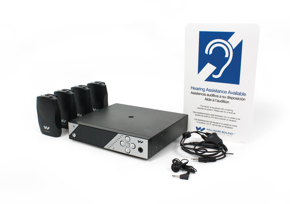 PPA 457 PERSONAL PA® FM ASSISTIVE LISTENING SYSTEM