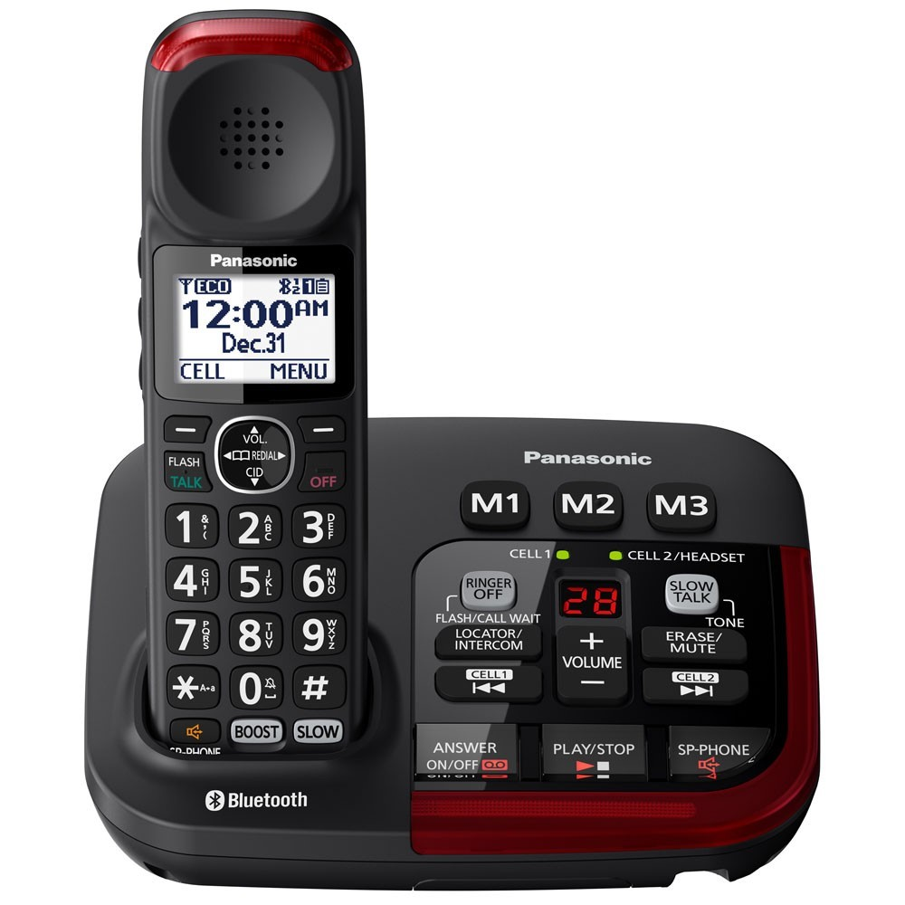 Panasonic Link2Cell KX-TGM430B Amplified Bluetooth Phone