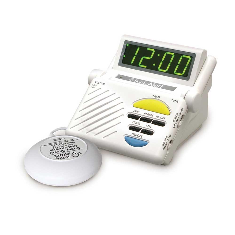 Sonic Alert Sonic Boom SB1000 Vibrating Alarm Clock