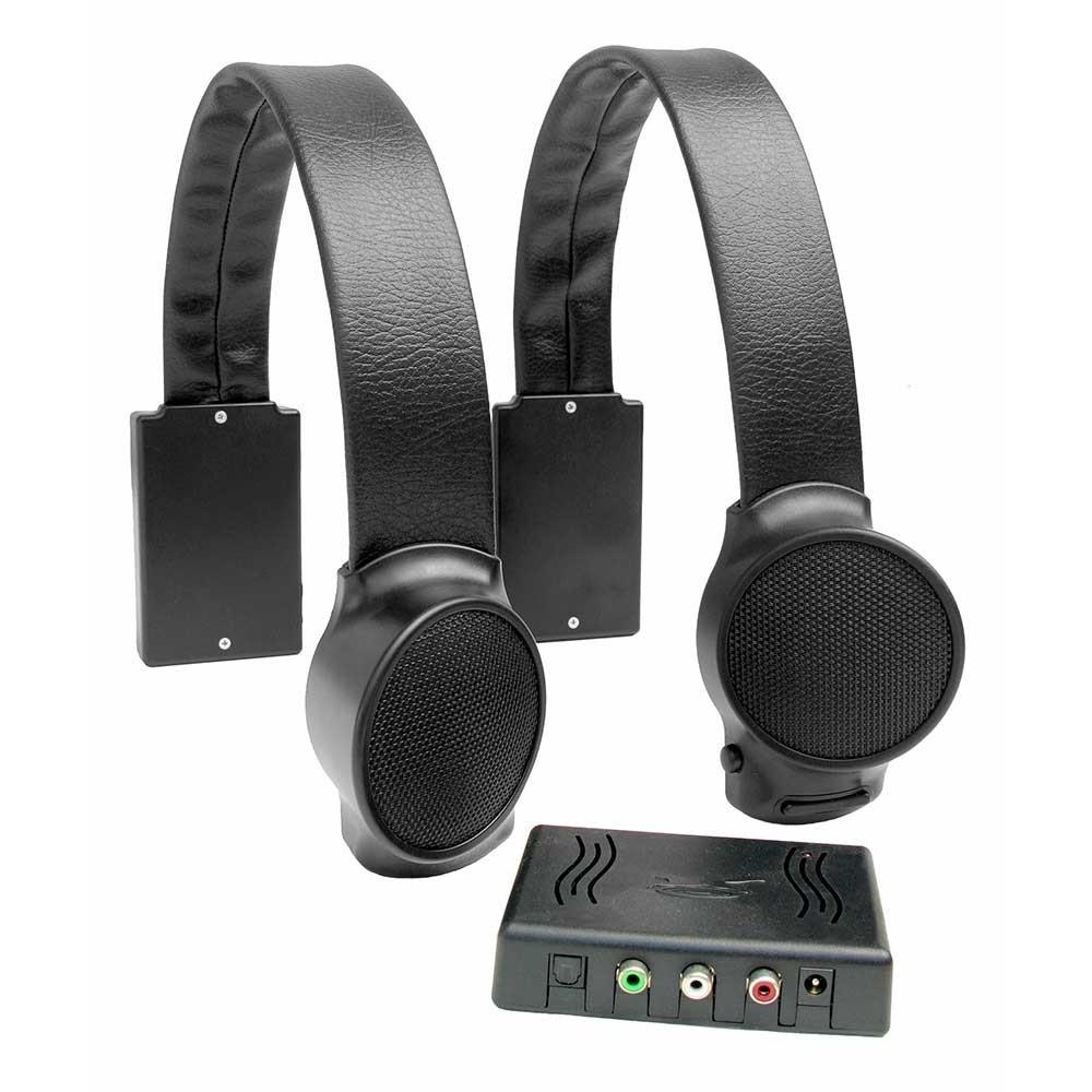 Audio Fox Black TV Listening Speaker System